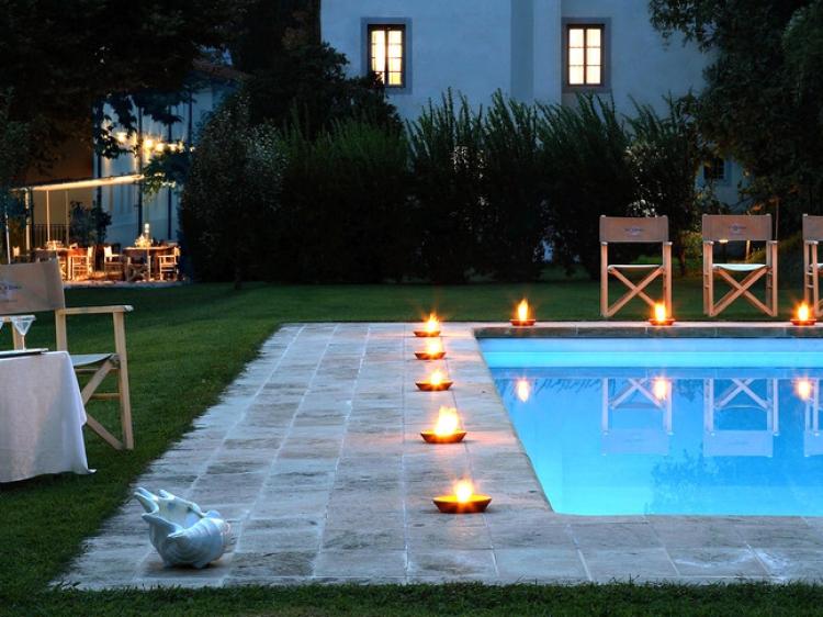 Villa la Bianca Camaiore Tuscany Hotel romantic and small b&b