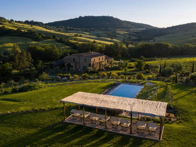 follonico hotel tuscany design boutique romantic beste small