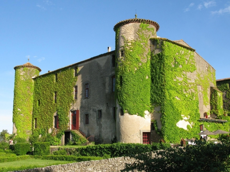 Chateau Villarlong Carcasonne Languedo-Rousillon France Hotel