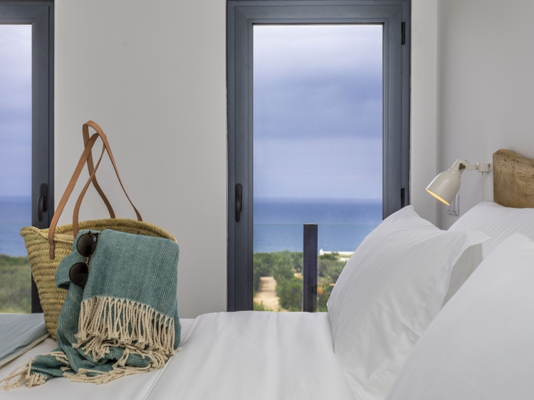 Bed with view