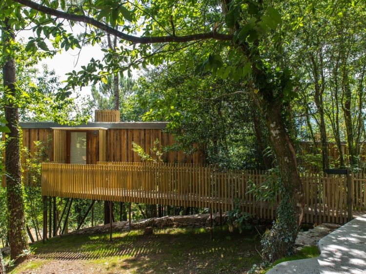 Cabañitas del Bosque Outes cabins in the tree