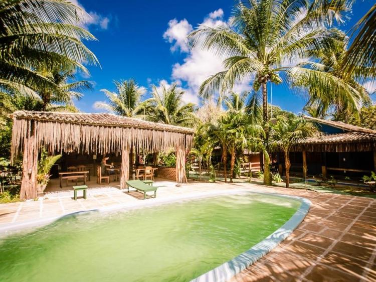 Na Villa dos Algodões Maraú Palm trees