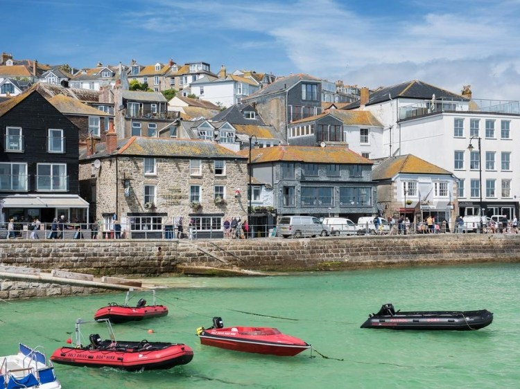 Stay at Lifeboat Inn St Ives Cornwall hotel lodging boutique best cheap luxury unique trendy cool small