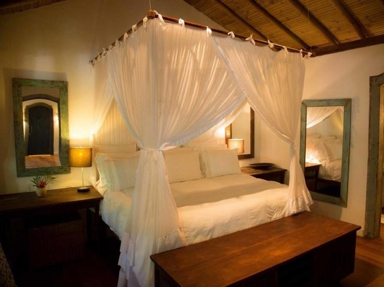Stay at Sagrado Casa Hotel Trancoso Brazil bed romantic relaxation