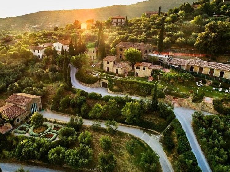 Il Falconieri Hotel Luxury Tuscany best charming  romantic