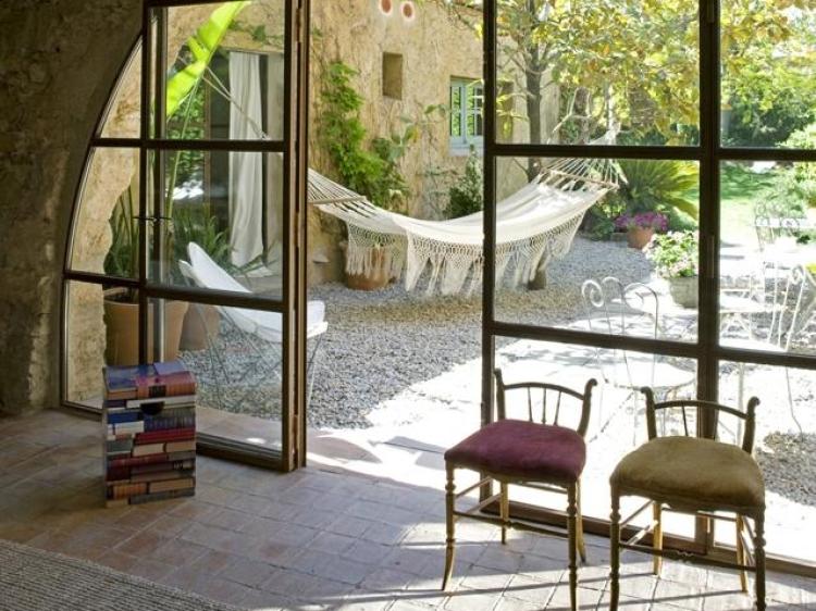 Les Hamaques Viladamat Spain Hammock Terrace