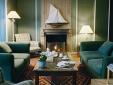Grand Hotel des Bains Fireplace