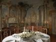 Palazzo Niccolini al Duomo Florence Italy Candle Light Table